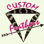 Custom Feathers Logo